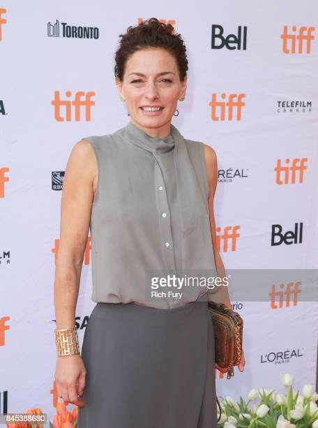 Lidia Vitale attends the Tulipani Love Honour and a Bicycle premiere during the 2017 Toronto International Film Festival at Ryerson Theatre on...
