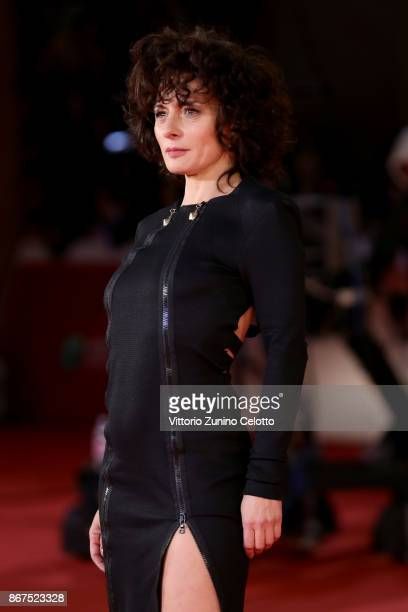 Lidia Vitale walks a red carpet for 'Stronger' during the 12th Rome Film Fest at Auditorium Parco Della Musica on October 28, 2017 in Rome, Italy.