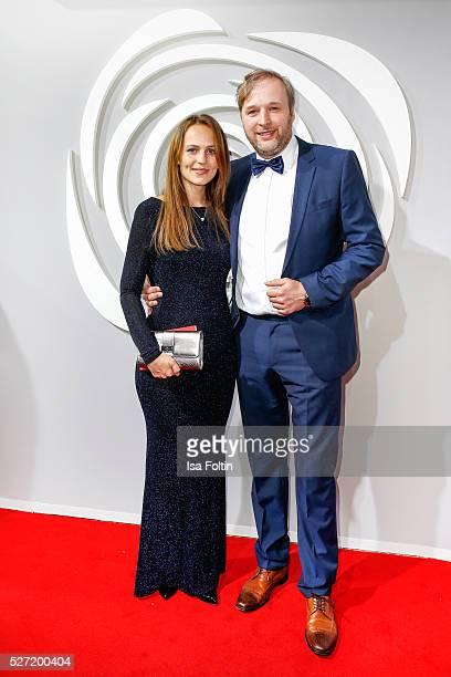 Lidija Grossmann and Stephan Grossmann attend the Rosenball 2016 on April 30 2016 in Berlin Germany