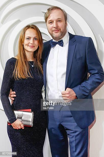 Lidija Grossmann and Stephan Grossmann attend the Rosenball 2016 on April 30, 2016 in Berlin, Germany.