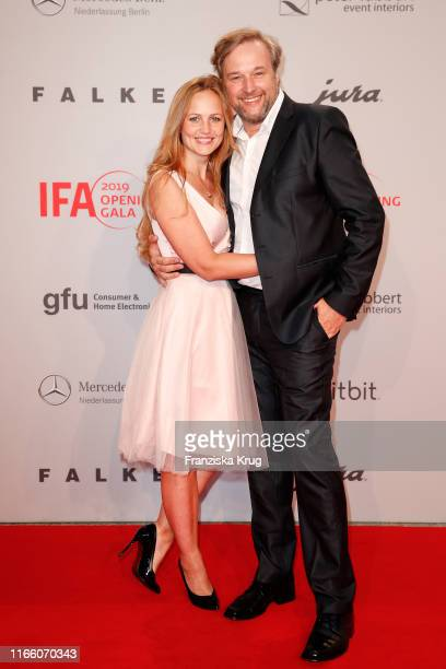 Lidija Grossmann and Stephan Grossmann during the IFA 2019 opening gala at Messe Berlin on September 5, 2019 in Berlin, Germany.