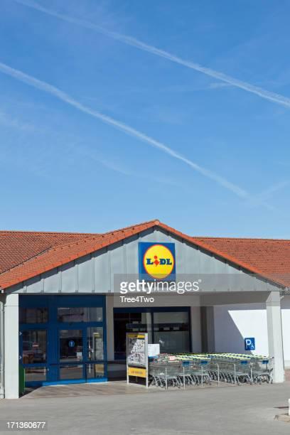 Lidl supermarket in Weissenburg, Germany