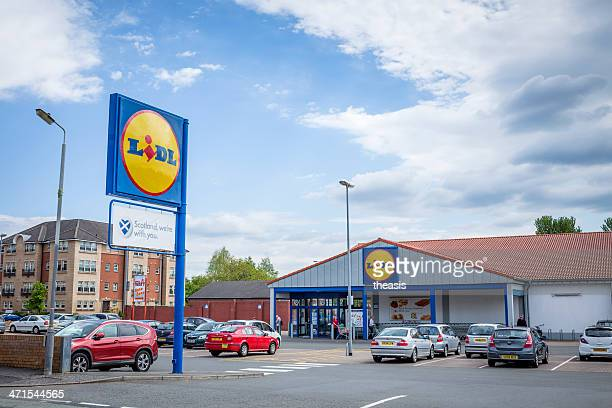 lidl supermarket - lidl stock pictures, royalty-free photos & images
