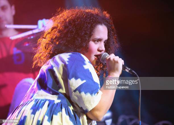 Lido Pimienta performs onstage at Meow Wolf during SXSW at Empire Garage on March 12 2018 in Austin Texas
