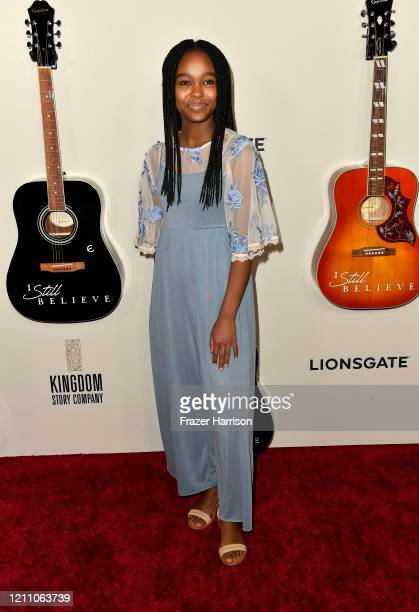 Lidya Jewett attends the premiere of Lionsgate's I Still Believe at ArcLight Hollywood on March 07 2020 in Hollywood California
