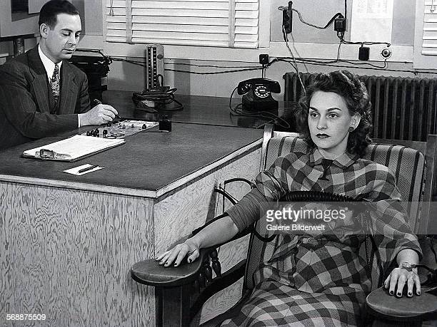 Lie detection tests were administered as part of security screening 1944 Oak Ridge The town of Oak Ridge was established by the Army Corps of...