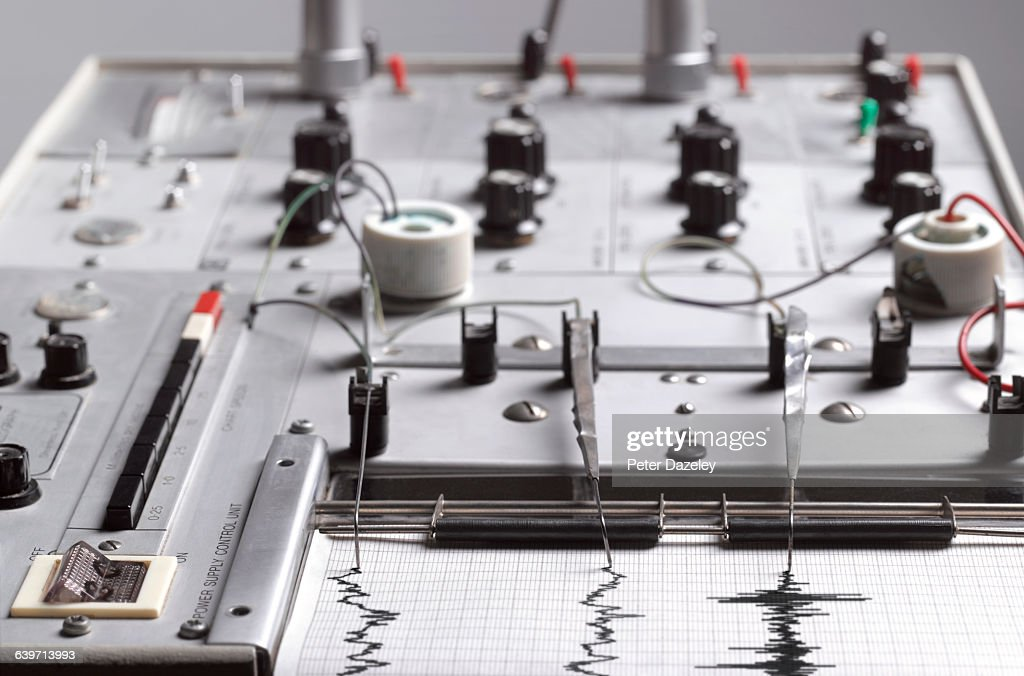 Lie Detector Polygraph Machine High-Res Stock Photo ...