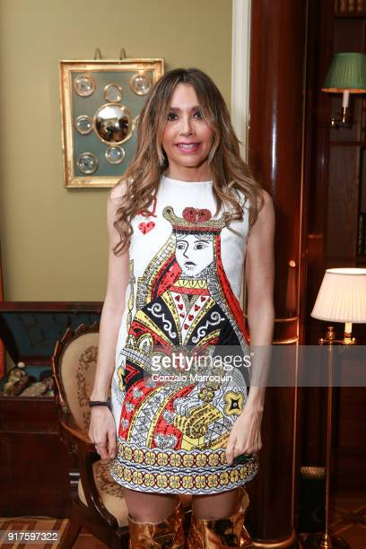 Lieba Nesis during the Susan Gutfreund Hosts UN Women For Peace Association Reception on February 12 2018 in New York City