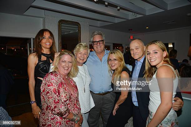Lieba Nesis Felicia Taylor Veronica Kelly Brian Fisher Dolly Lenz Raymond Kelly and Jenny Lenz attend Oreya Salutes Julian Niccolini of The Four...