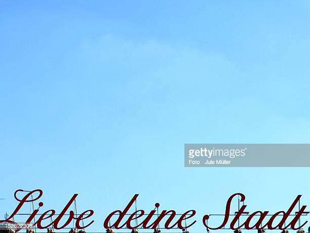 liebe deine stadt in cologne - liebe stock pictures, royalty-free photos & images