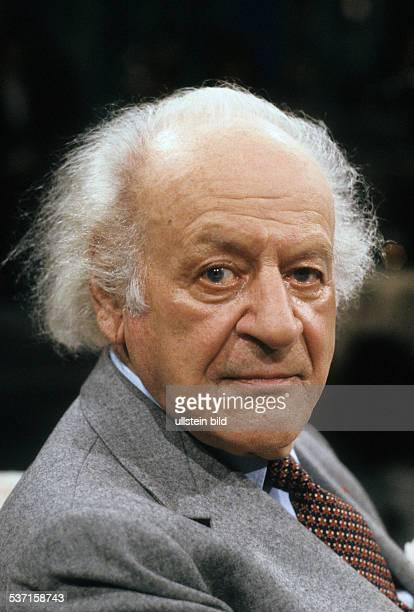 Liebermann Rolf Komponist Schweiz Portrait 1990