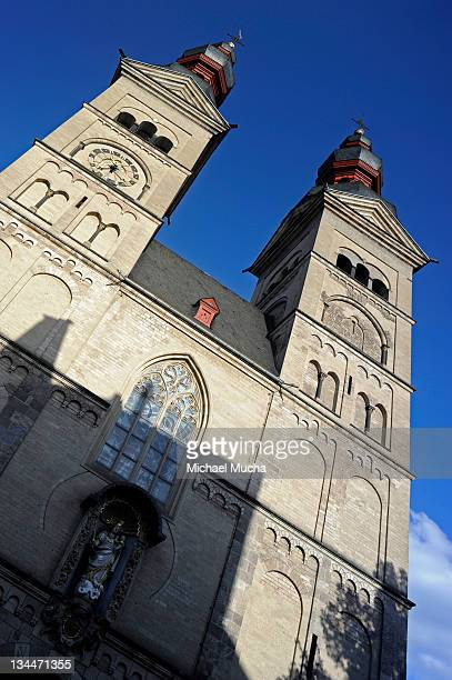 liebfrauenkirche, church of our lady, koblenz, rhineland-palatinate, germany, europe - michael mucha stock-fotos und bilder