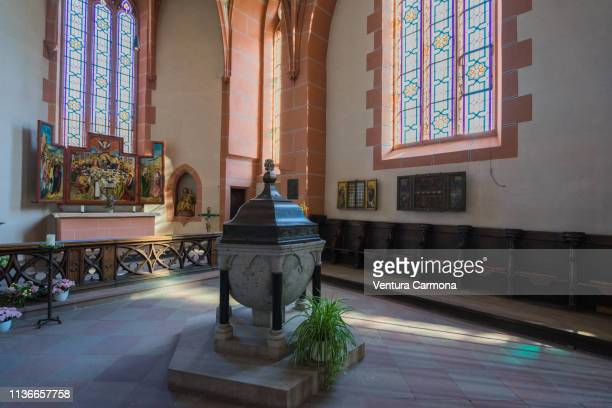 Liebfrauenkirche (Church of Our Lady) in Oberwesel, Germany