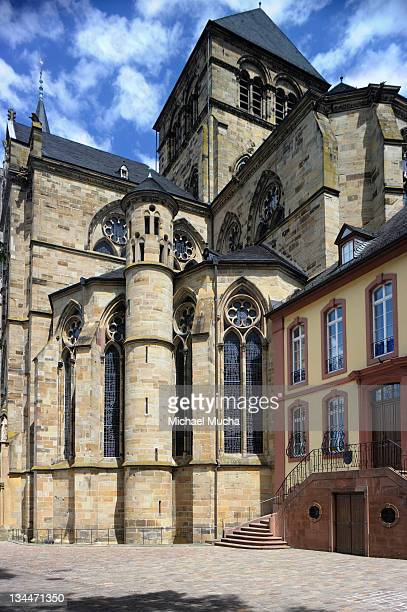 liebfrauenkirche or church of our lady, trier, rhineland-palatinate, germany, europe - michael mucha stock-fotos und bilder