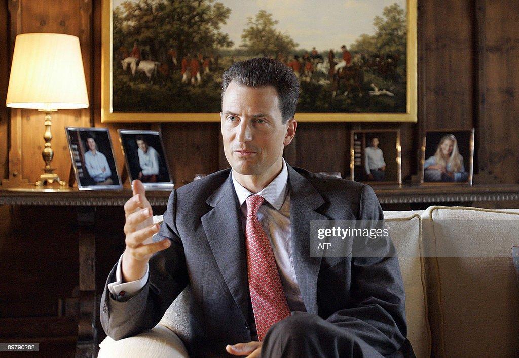 Liechtenstein's head of state Prince Alo : News Photo