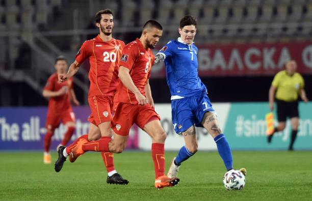 MKD: North Macedonia v Liechtenstein - FIFA World Cup 2022 Qatar Qualifier