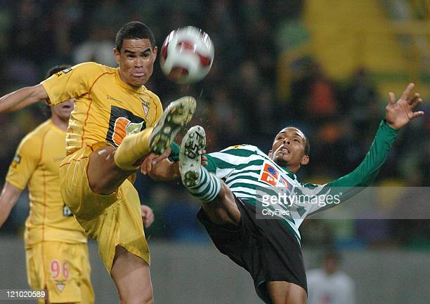 Liedson during a match between Sporting and Desportivo das Aves in Lisbon, Portugal on February 23, 2007.
