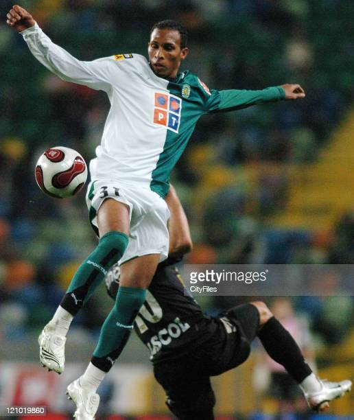 Liedson during a Portuguese Cup quarterfinal match between Sporting Lisbon and Academica in Lisbon, Portugal on February 28, 2007.
