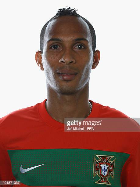 Liedson of Portugal poses during the official Fifa World Cup 2010 portrait session at the Valley Lodge on June 7, 2010 in Rustenburg, South Africa.