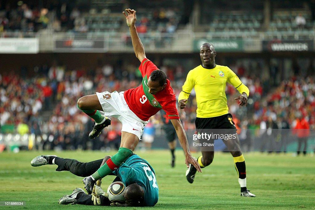 Portugal v Mozambique Friendly International-2010 FIFA World Cup : ニュース写真