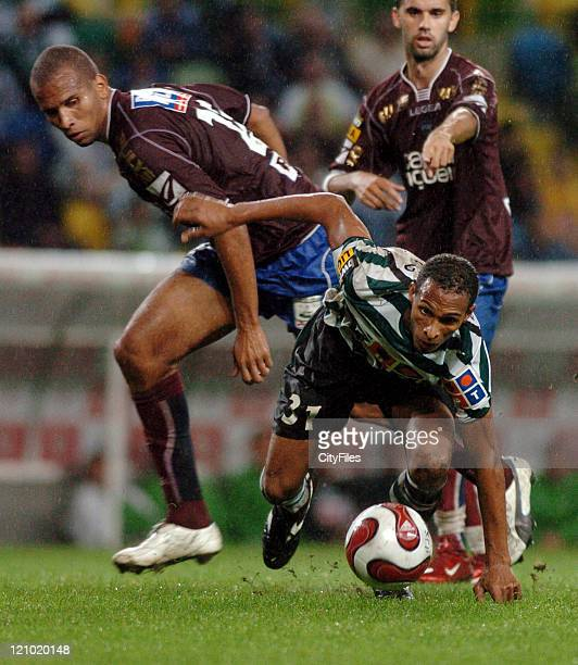 Liedson of Sporting during the match between Uniao de Leiria and Sporting Lisbon at Alvalade XXI Stadium in Lisbon Portugal on October 2 2006
