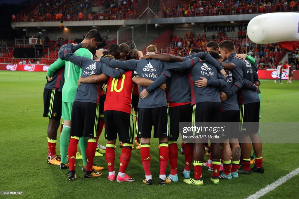 Belgium v Gibraltar... : News Photo