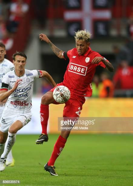20170818 Liege Belgium / Standard de Liege v Zulte Waregem / 'nDavy DE FAUW Junior EDMILSON'nFootball Jupiler Pro League 2017 2018 Matchday 4 /...