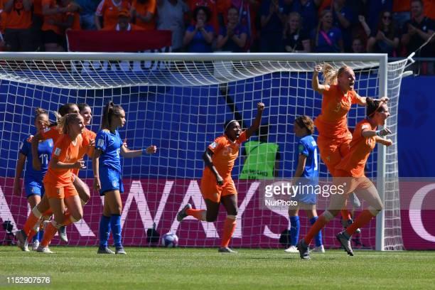 Lieke Martens, Merel Van Dongen, Sherida Spitse, Desiree Van Lunteren, Dominique Bloodworth, Stefanie Van Der Gragt of Netherlands Women's National...