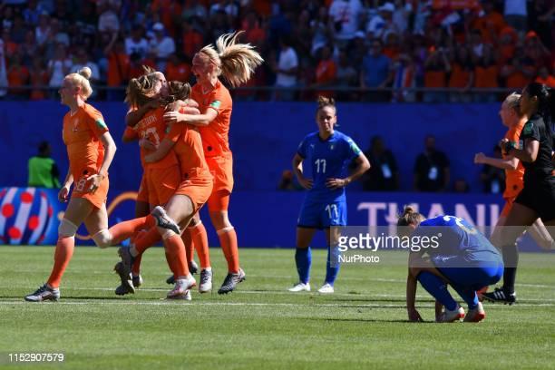 Lieke Martens, Merel Van Dongen, Sherida Spitse, Desiree Van Lunteren, Dominique Bloodwrth, Stefanie Van Der Gragt of Netherlands Women's National...