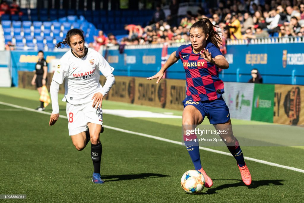 Women: FC Barcelona V Sevilla FC Femenino : News Photo