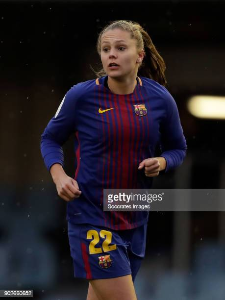 Lieke Martens of FC Barcelona Women during the Iberdrola Women's First Division match between FC Barcelona v Levante at the Ciutat Esportiva Joan...