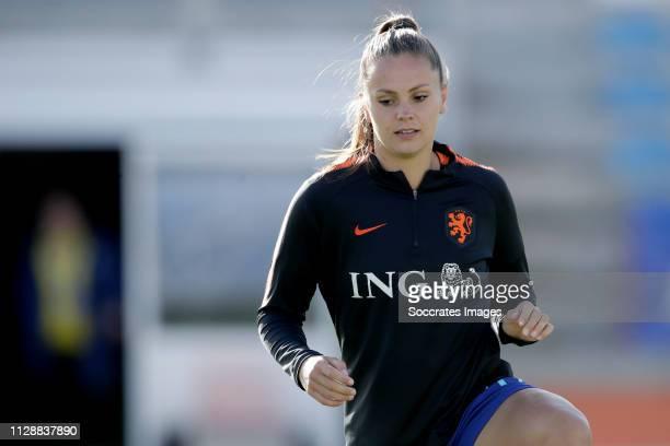 Lieke Martens of Holland Women during the Algarve Cup Women match between China PR v Holland at the Estadio Municipal de Albufeira on March 6, 2019...
