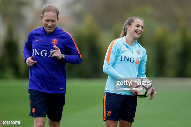 Lieke Martens of Holland Women during the Training Holland Women at the The Campus on March 6 2018 in Quinta do Lago Portugal