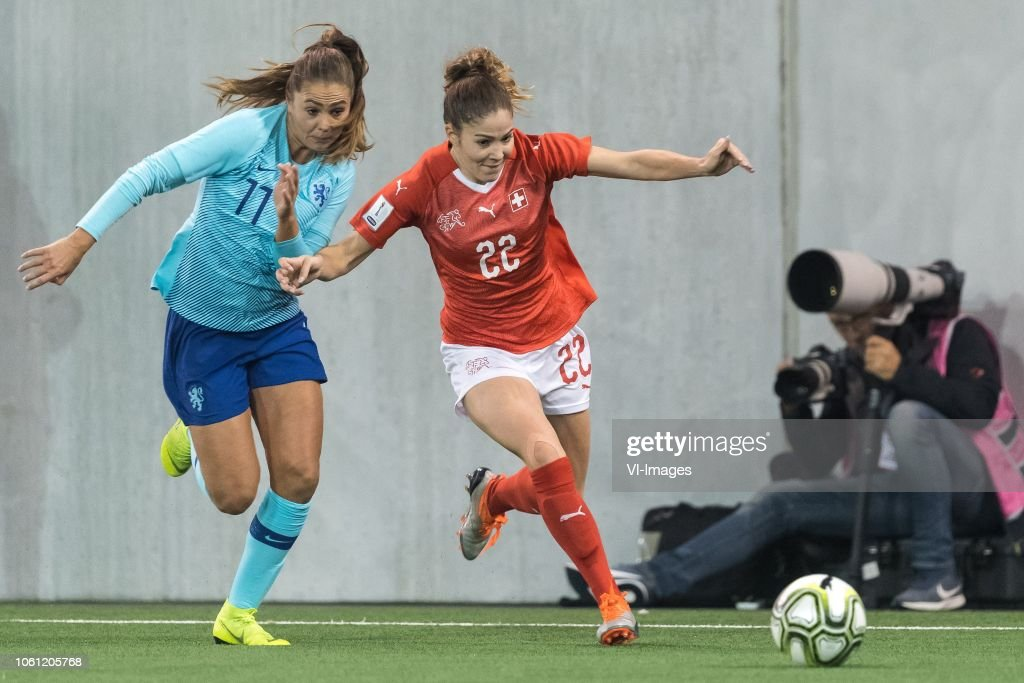 FIFA Women's World Cup 2019 play off final'Women: Switzerland v The Netherlands' : News Photo