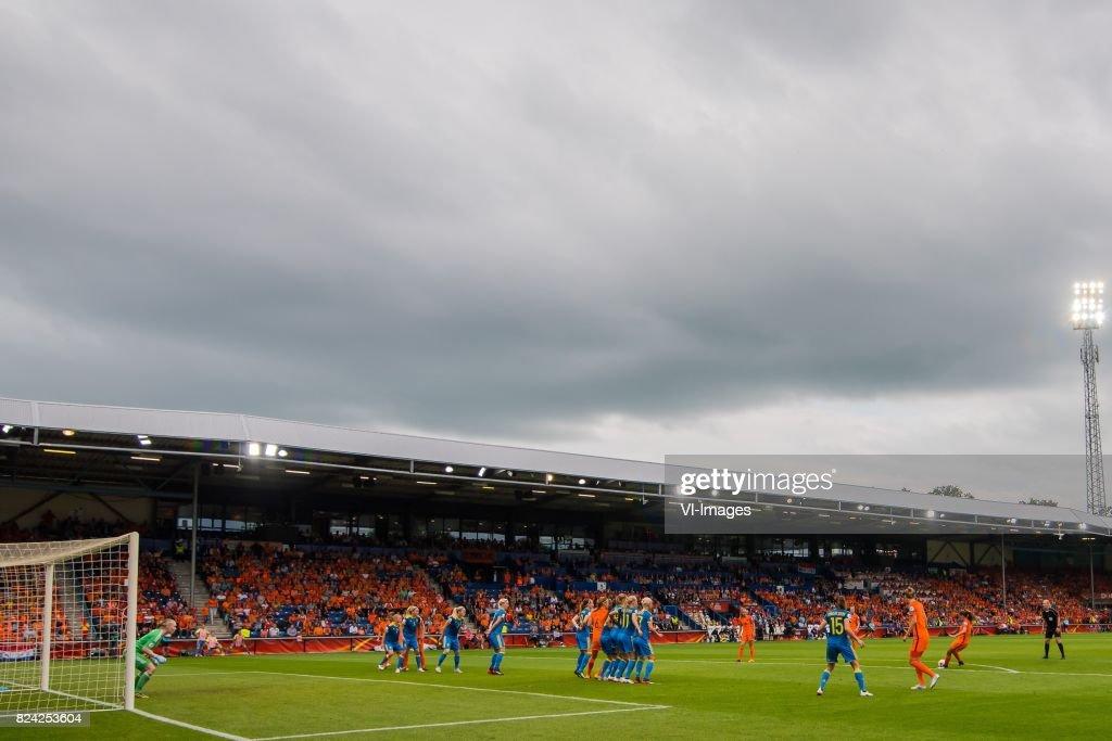 UEFA WEURO 2017'Women:The Netherlands v Sweden' : News Photo