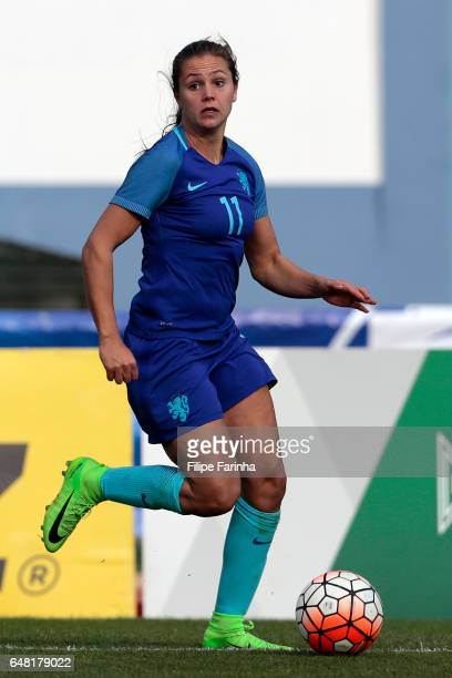 Lieke Martens of Netherlands during the Algarve Cup Tournament Match between Australia W and Netherlands W on March 3 2017 in Vila Real de Santo...