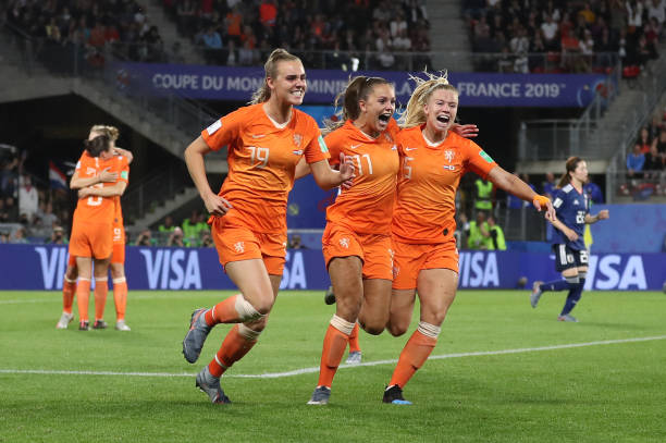 FRA: Netherlands v Japan: Round Of 16  - 2019 FIFA Women's World Cup France