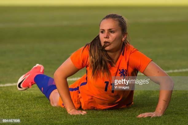 Lieke Martens of The Netherlandsduring the friendly match between the women of The Netherlands and Japan at the Rat Verlegh stadium on June 9 2017 in...