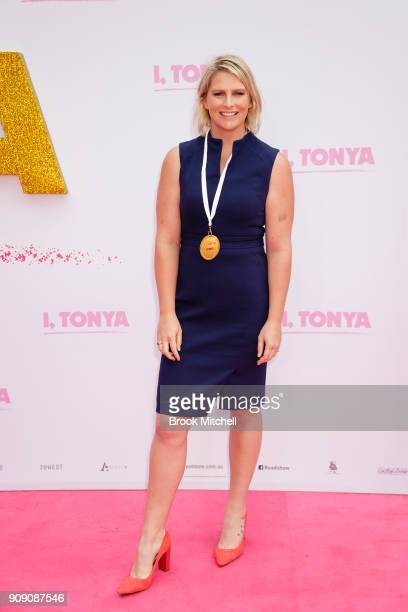Liesal Jones arrives at the Australian Premiere of 'I Tonya' on January 23 2018 in Sydney Australia