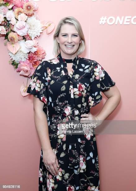 Liesel Jones attends the Bumble Bizz launch on March 20 2018 in Sydney Australia
