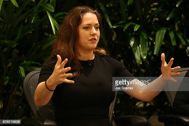 Liesel Pritzer Simmons speaks onstage during the My Big Idea For Building A Better Future panel at Fortune MPW Next Gen 2016 on November 29 2016 in...
