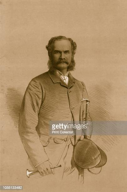 Lieutenant Colonel A.M.Calvert', 1879. Archibald Motteux Calvert , soldier, huntsman. From The Sporting Gazette and Agricultural Journal, 10th May...