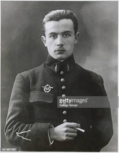Lieutenant Coste is France's Latest Hero of the Air Photo shows Latest posed pictured of Lieutenant Coste famous French aviator whose long flight to...