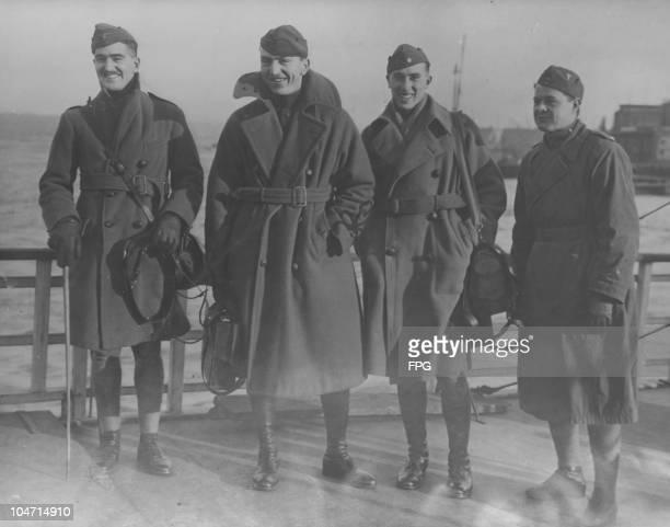 Lieutenant Douglas Campbell American aviator and World War I flying ace World War I flying ace Captain Eddie Rickenbacker World War I flying ace...