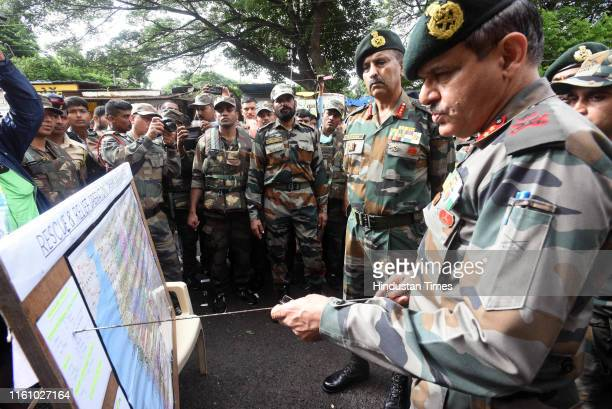 Lieutenant General Satinder Kumar Saini AVSM YSM VSM is the current General Officer CommanderinChief Southern Command of the Indian Army visits...