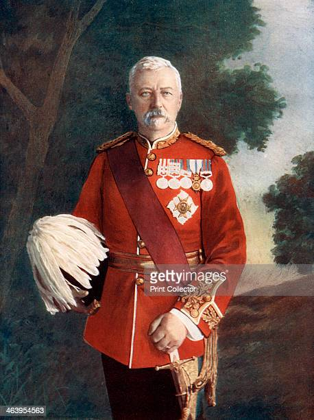 Lieutenant General Sir Robert Low 1900 Director of transport on the march to Kandahar in 1880 and commander of the Bombay Army from 18981903 Portrait...