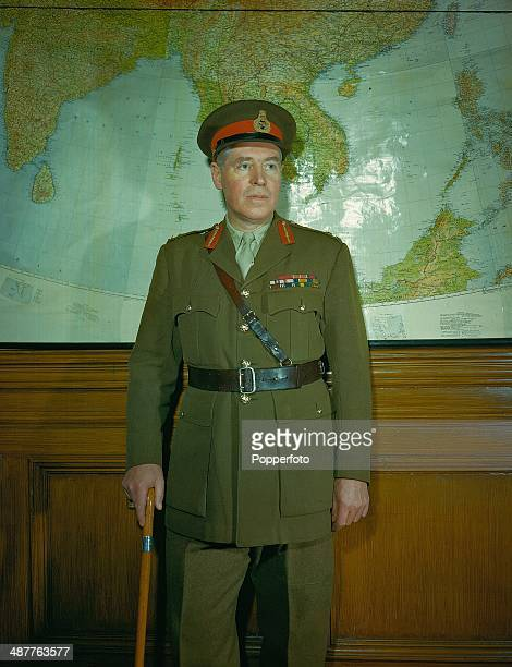 1945 Lieutenant General Sir Ronald Weeks Field Marshal Montgomery's chief representative on the Allied Control Council for Germany England June 1945