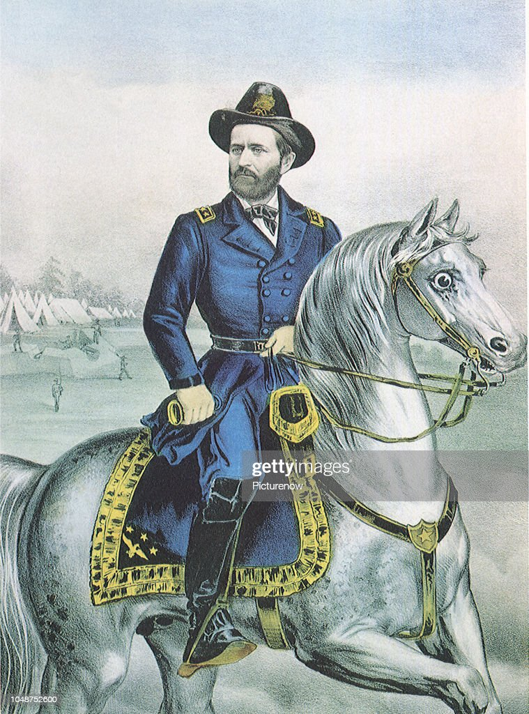 Lieutenant General Ulysses S. Grant. : News Photo