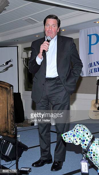 Lieutenant Governor John Garamendi attends the 2009 Project Save Our Surf 1st Annual Surfathon and Oceana Awards at Shutters on the Beach Ballroom on...