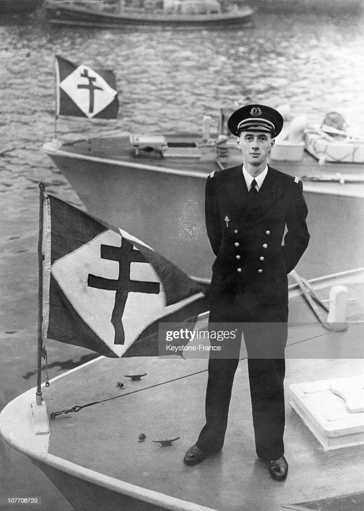 Philippe De Gaulle In 1945-1947 : Photo d'actualité